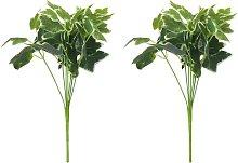 Planta Artificial de Ramas de Hiedra Verde y