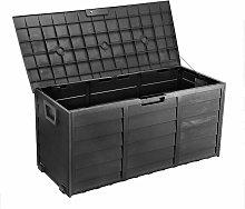 PLAS-BOX Caja de almacenaje de jardín imitación