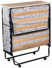 Plegatin-Cama somier plegable con colchón espuma