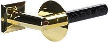 Pomdor - Portapapel vertical oro-negro deco