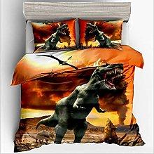 POMJK 3D Jurassique Dinosaurio Modelo - Funda de