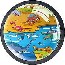 Pomos Y Tiradores Dinosaurio De Dibujos Animados
