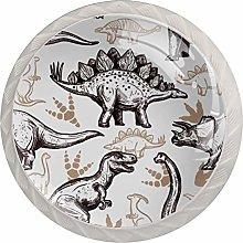 Pomos y Tiradores Infantiles Dinosaurio antiguo