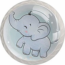 Pomos y Tiradores Infantiles mariposa elefante