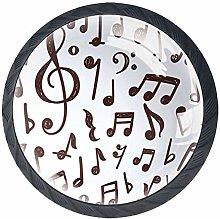 Pomos y Tiradores Infantiles Notas musicales