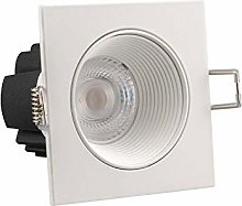 POPP® Foco downlight cuadrado empotrable LED