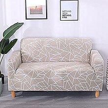 POPXP 1 2 3 Fundas de sofá de 4 plazas Cubierta