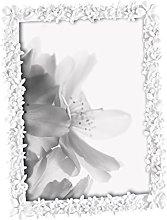 Portafoto resina fiori 10x 15