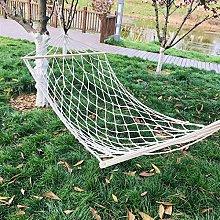 Portátil Soltero Hamaca Jardin Exterior con Tie