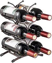 Portavasos para Botellas de Vino de Metal para