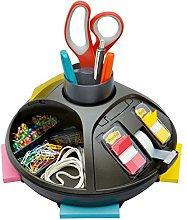 Post-it Organizador giratorio, negro, mantiene tu