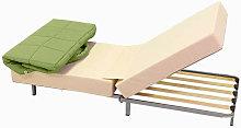 Pouf cama colchón individual-plegable