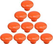 POXL Pomos y Tiradores Infantiles, 10Pcs Ceramica