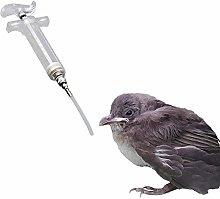 PPING Bebedero Pajaros Jeringa para Pájaros