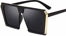 PPLAX Vintage Cuadrado Grande Gafas de Sol de Las