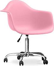 Premium Silla de Oficina Darrwick Rosa