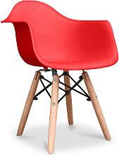 Premium Silla Infantil Dawick - Mate Rojo