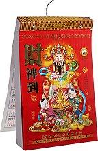 PRETYZOOM 2022 Calendario Chino Año del Tigre