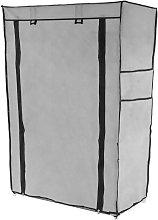 PrimeMatik - Armario ropero y zapatero de tela