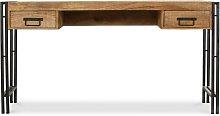 Privatefloor - Mesa de escritorio de madera Onawa