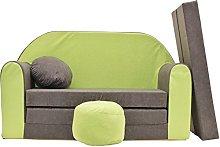 Pro Cosmo A1 - Sofá Cama Infantil con puf,