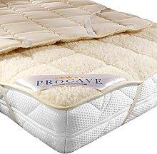 PROCAVE Funda de colchón Suave de Tela de Cordero
