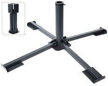 Progarden - Base parasol hierro plegable