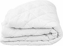 Protector de colchón Acolchado Ligero Blanco