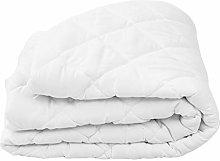 Protector de colchón Acolchado Pesado Blanco