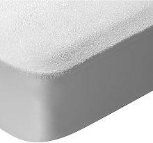 Protector de colchón cuna de rizo impermeable