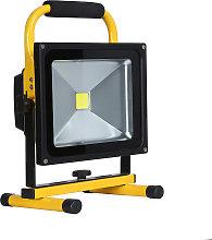 Proyector LED, 30W con batería recargable, Blanco