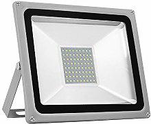 Proyector LED, proyector de exterior de 50 vatios,