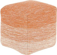 Puf naranja 40x40 cm HIRRI