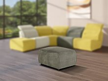 Puf para sofá modular de tela SYMPOSION -