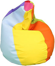 Puff Pera Polipiel Indoor Multicolor XXL - Happers
