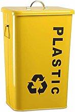 PULLEY - Cubo de basura de hierro para exteriores