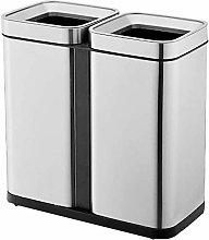 PULLEY -S - Cubo de basura de acero inoxidable
