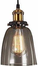 PXY Lámpara Colgante de Vidrio de Vendimia