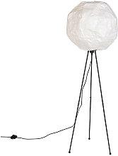 QAZQA Moderno Lámpara de pie papel escandinavo