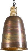 QAZQA Rústico Lámpara colgante vintage cobre/oro