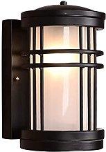 QHCS Lámpara de Pared cilíndrica Simple para