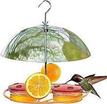 qianduo Pajarera colgante de color naranja, fácil