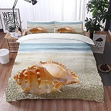 Qinniii Bedsure Funda Nórdica,Shell en la Playa