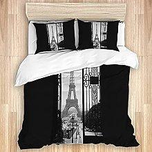 Qinniii Cubierta de edredón, Torre Eiffel Francia