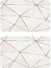 QMIN - Imanes de nevera geométricos con líneas