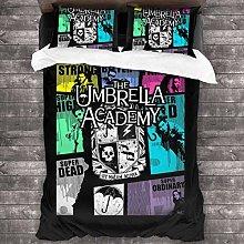 Qoqon The Umbrella Academy GTA Juego de Cama de 3