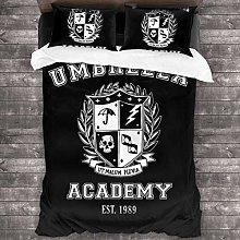 Qoqon Umbrella Academy Varsity School Crest Juego