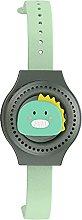 qunzi Reloj ventilador portátil para niños USB