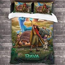 QWAS Raya and The Last Dragon - Juego de funda de