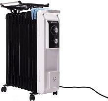 Radiador de aceite de 2800W con tendedero y